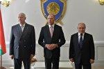 Председатели Следственных комитетов Армении, Беларуси и России