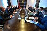 Встреча председателей следственных комитетов Беларуси, Армении и России