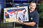 Андрей Фомочкин в аэропорту