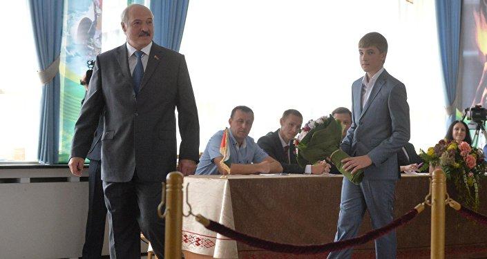Лукашенко: Мои дети нехотят занять пост Президента