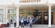 Аркестр на ўчастку для галасавання ў Брэсце