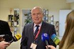 Глава миссии наблюдателей от СНГ Сергей Лебедев