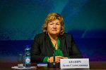 Лилия Ананич, министр информации Беларуси