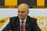 Российский сенатор: на выборах в Беларуси царит семейная атмосфера
