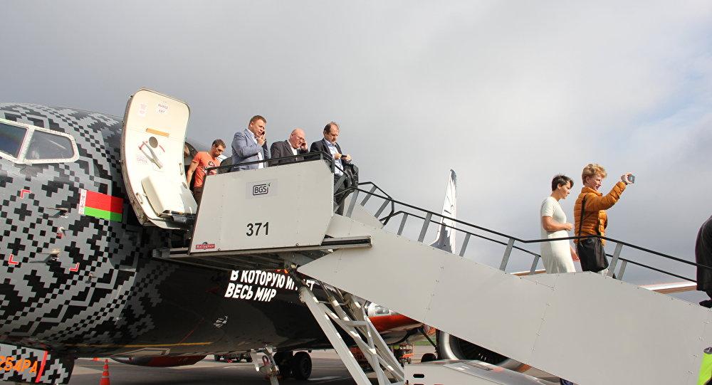 Аэропорт Жуковский принял 1-ый рейс через три месяца после открытия