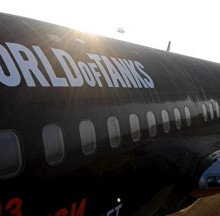 Брызги шампанского и воды: Жуковский принял первый рейс Белавиа