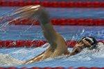 Игорь Бокий на дистанции 400 м кролем в Рио-2016