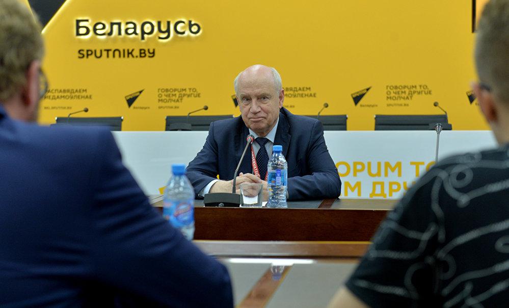 Глава исполнительного комитета СНГ Сергей Лебедев