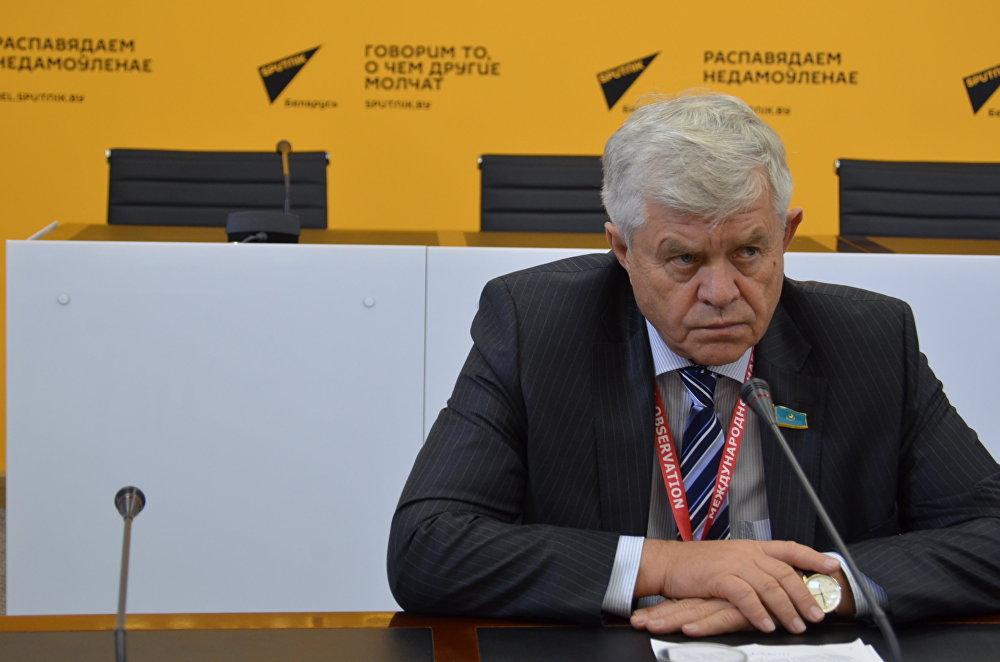 Наблюдатель от МПА СНГ, заместитель председателя Мажилиса парламента Казахстана Владимир Божко
