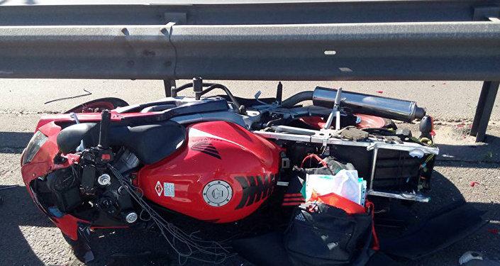 ВБобруйском районе МАЗ сбил скутер: умер человек