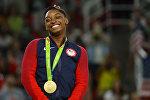 Американская гимнастка Симоне Байлз