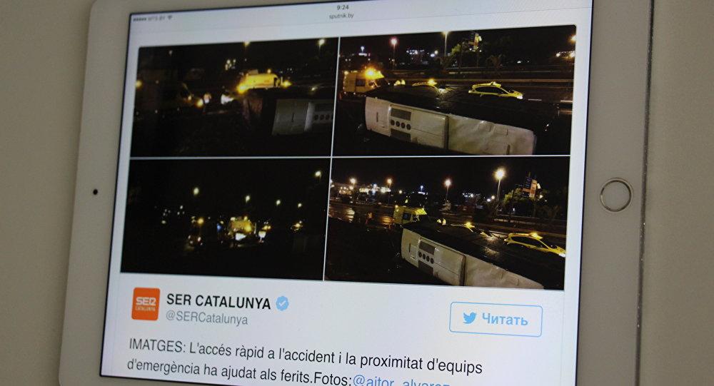 Граждан России нет среди пострадавших вДТП вБарселоне— КонсульствоРФ