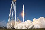 Старт ракеты Antares