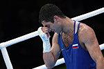Российский боксер Миша Алоян на Олимпиаде в Рио