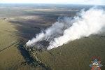 Пожар в национальном парке