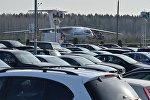 Автостоянка национального аэропорта Минск