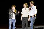 Бывшие звезды Top Gear Джереми Кларксон, Ричард Хаммонд и Джеймс Мэй