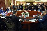 В Бишкеке прошел Совет министров иностранных дел СНГ в преддверии юбилейного саммита глав государств СНГ