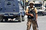 Пакистанский  военнослужащий. Архивное фото