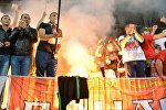 Файеры на матче Бецларусь - Франция в Борисове
