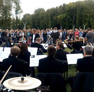 J:Mors: концерт для группы с оркестром в парке!