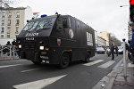 Полиция Франции в пригороде Парижа