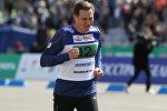 На память о мероприятии у Максима Рыженкова останется медаль участника забега среди представителей СМИ