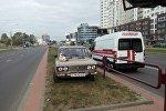 Инцидент в Московском районе.
