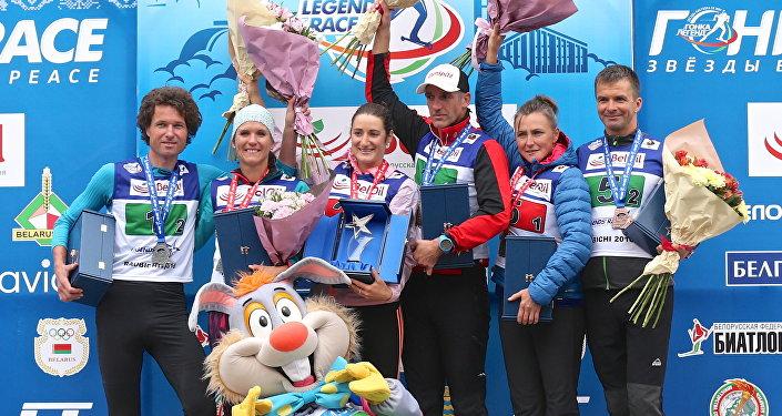 Биатлонист Бьорндален порадовал беременную супругу серебром чемпионата Республики Беларусь