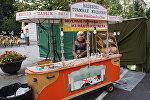 Віцебскі трамвай жаданняў на вільнюскім кірмашы