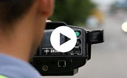 Фиксация нарушений скорости в Минске