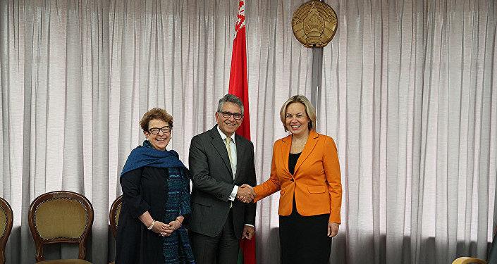 Встреча замминистра Елены Купчиной с делегацией Еврокомиссии