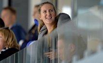 Теннисистка Виктория Азаренко стала частым гостем на матчах столичной дружины