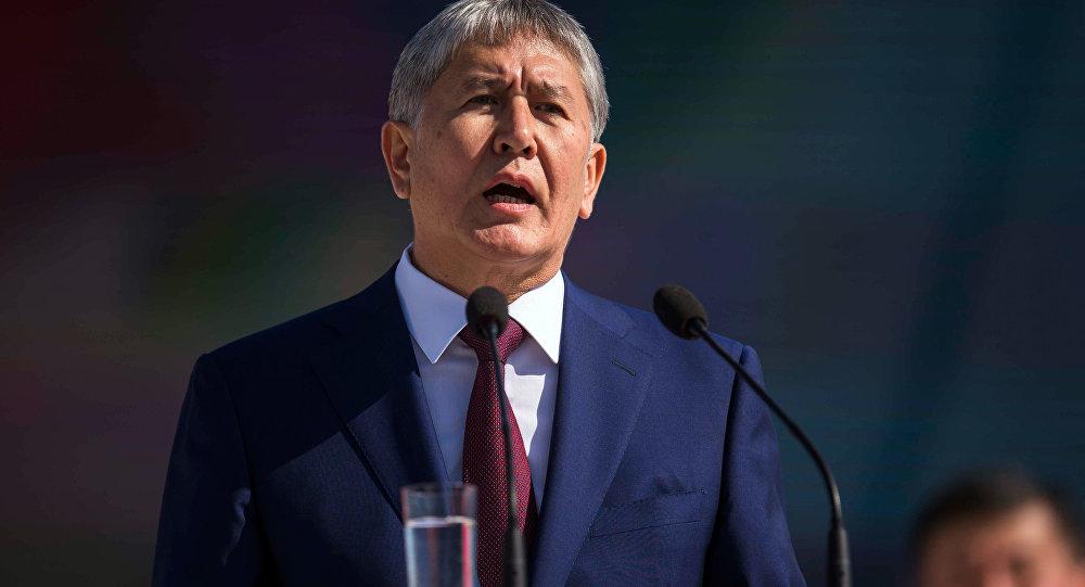 ВКремле пожелали быстрейшего выздоровления президенту Киргизии