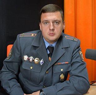 Намеснік начальніка ДАІ г. Мінска Андрэй Зыранаў