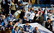 Болельщики минского Динамо на матче
