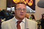 Председатель Паралимпийского комитета Беларуси Олег Шепель