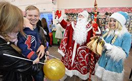 Новогодний базар открылся в минском ЦУМе за 100 дней до праздника