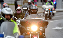 Александр Лукашенко встретился с официальными лицами головного офиса Harley-Davidson и руководителями крупных отделений H. O. G. (Harley Owners Group) из Европы и стран СНГ