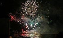 Всемирный фестиваль фейерверков в Зеленоградске
