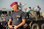 Венгерский полицейский