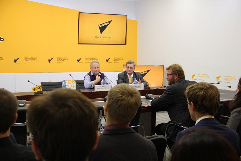 Пресс-конференция на тему Выборы президента в США: анализ и прогнозы политологов