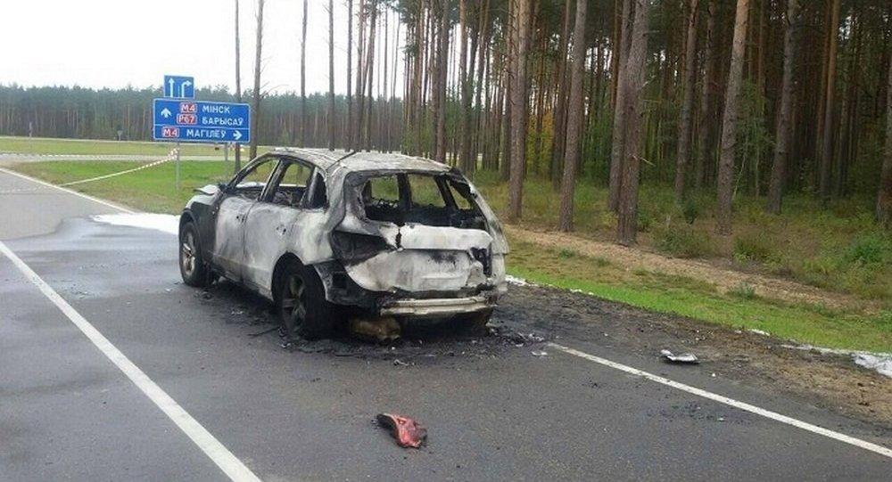 Предпринимателя убили, аего машину сожгли вМинской области