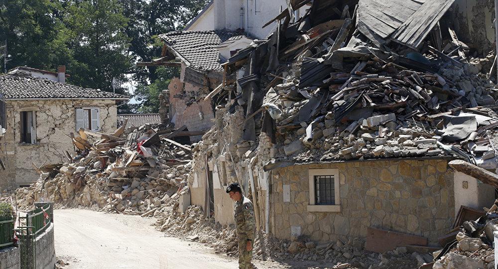 Кота спасли из-под завалов вИталии спустя месяц после землетрясения