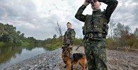 Участок белорусско-украинской границы, архивное фото
