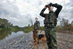 Белорусские пограничники, архивное фото