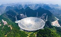 Крупнейший в мире радиотелескоп FASТ