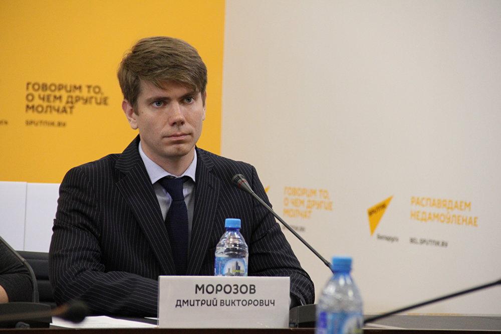 Заместитель директора туристической организации БелАгроТревэл Дмитрий Морозов