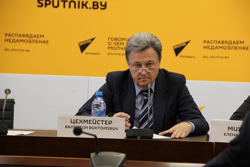 Руководитель Республиканского союза туристических организаций Беларуси Валентин Цехместер