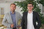 Создатели фильма Поколение разлома Максим Мегем и Максим Гревцев